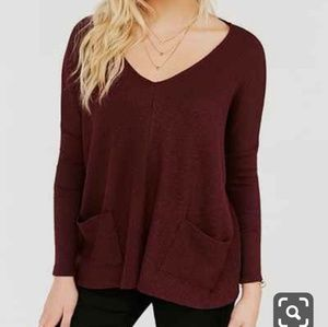 Urban Outfitters sweater BDG Maroon XS